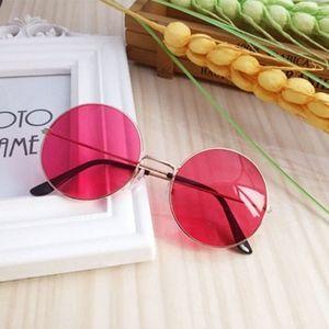 617926d3e5 Accessories - Vintage Retro Oval Sunglasses Ellipse Metal Frame